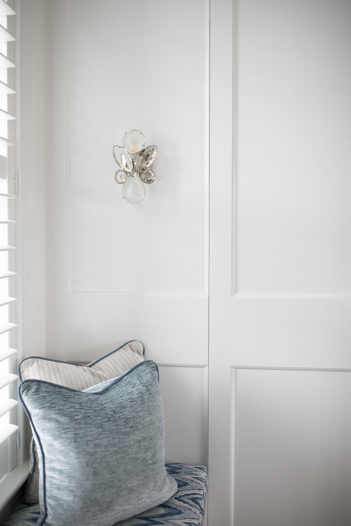 Lloyd Small Jeweled Sconce by kate spade new york, Photography by Rachel McGinn