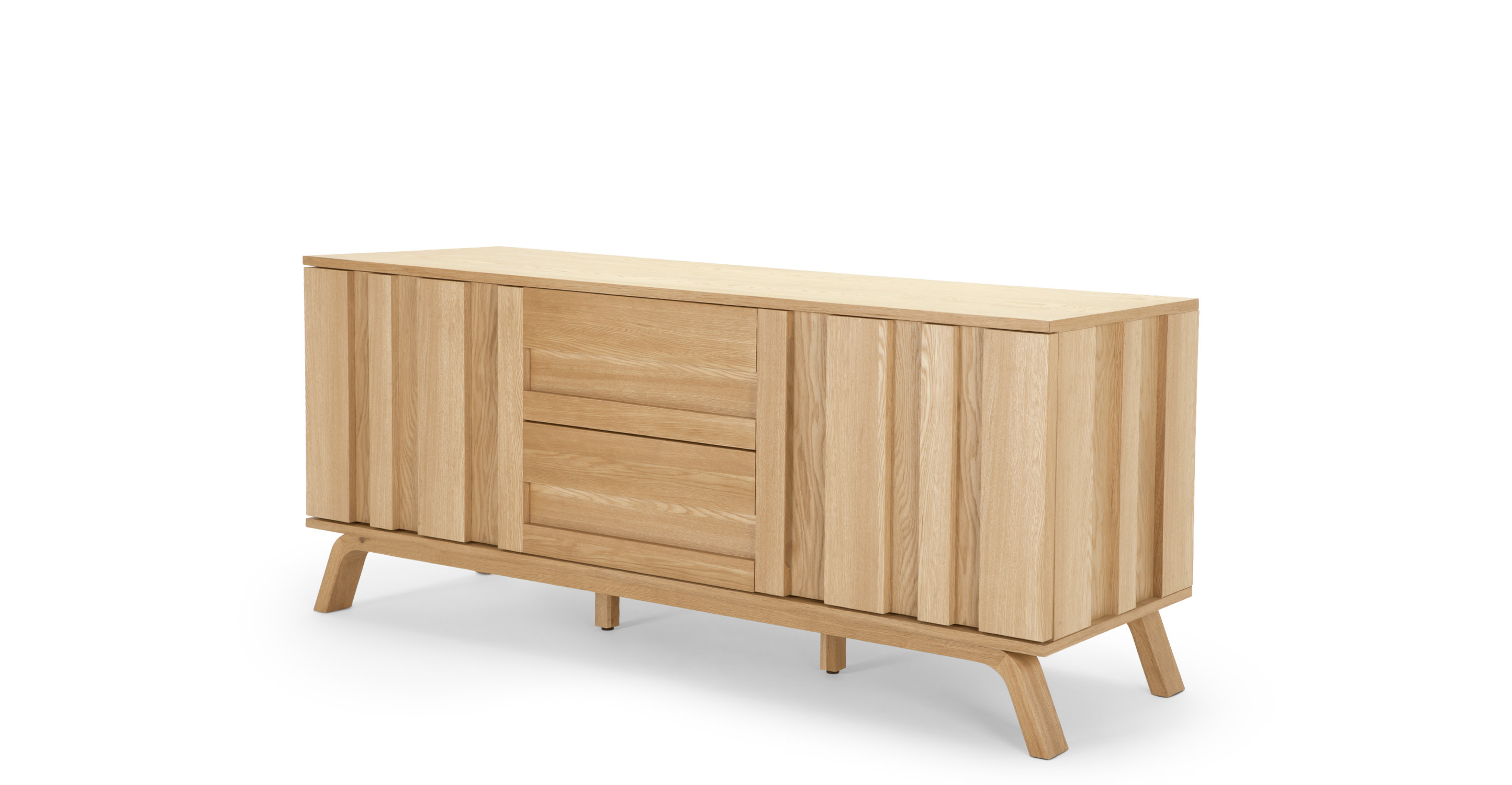 luka sideboard oak. Black Bedroom Furniture Sets. Home Design Ideas