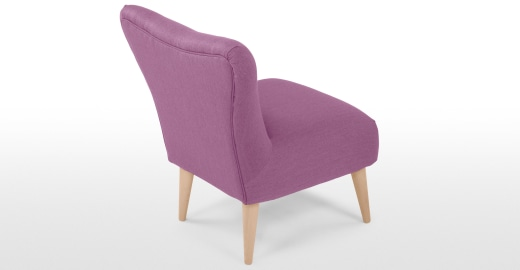 Finch Arte Chair In Foxglove Purple Made Com