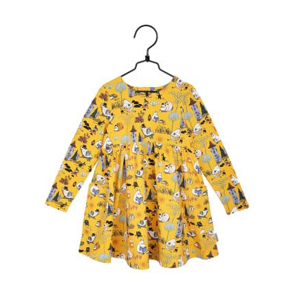 Muumi Retro-taskumekko keltainen