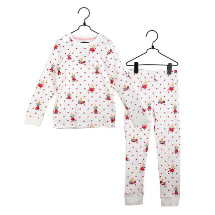 Moomin Hearts Pyjamas white