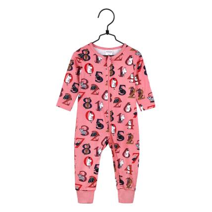 Moomin Numbers Pyjamas rose