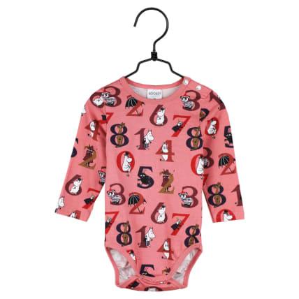 Moomin Numbers Bodysuit rose