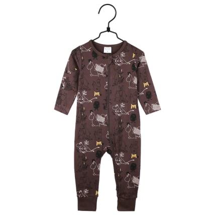 Moomin Busy Pyjamas brown