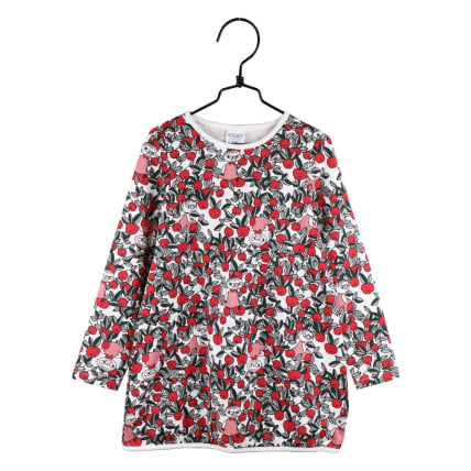 Moomin Cranberry Tunic off-white