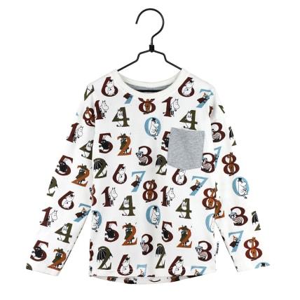 Moomin Numbers Shirt putty