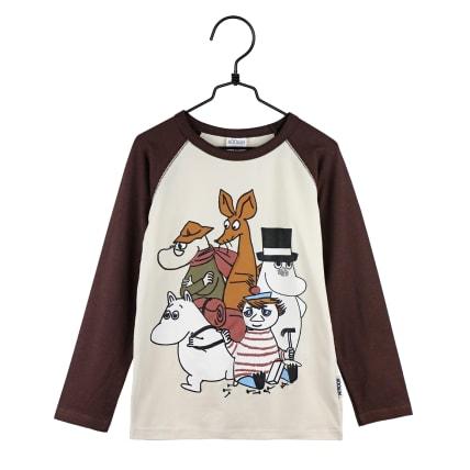 Moomin Moomin Shirt brown