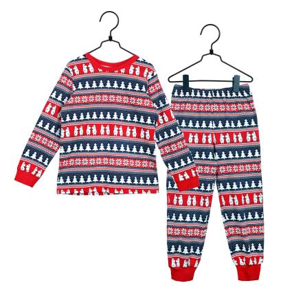 Moomin Moomin Xmas Pyjamas red