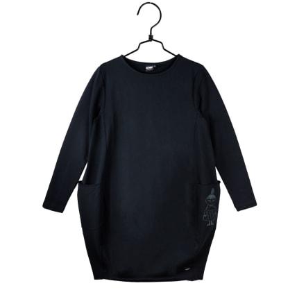 Moomin Iida Dress Little My long-sleeve black
