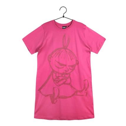Moomin Sketch1 Nightgown Short-sleeve magenta