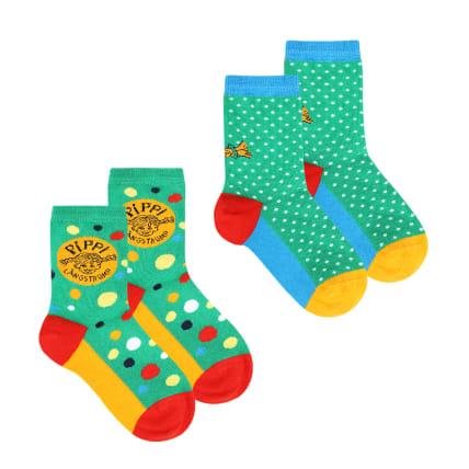 Pippi Longstocking Dot Socks 2-pack