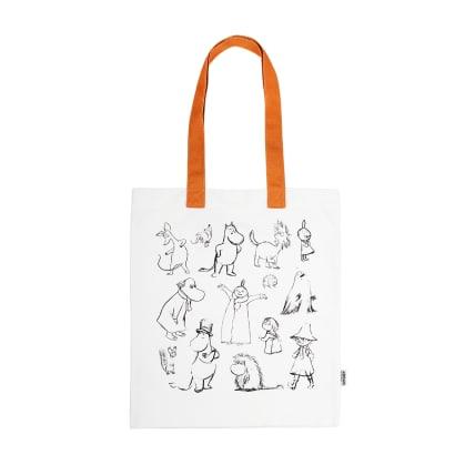 Moomin Ecobag Folks