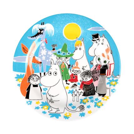 Moomin Summer Day Plate