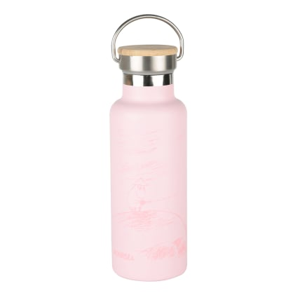 Moomin Our Sea Stainless Steel Bottle pink