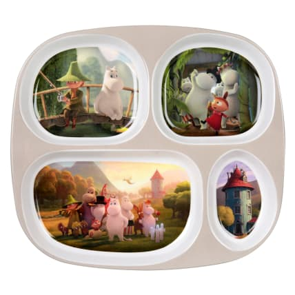 Moomin Moominvalley Section Plate