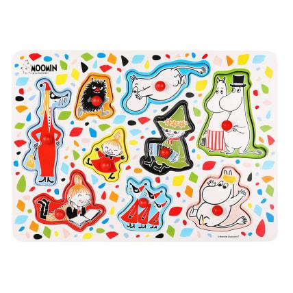 Moomin Characters Peg Puzzle