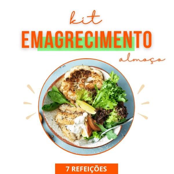 Kit Emagrecimento - Almoço - Vipx Gourmet