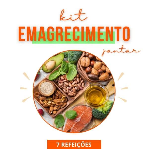 Kit Emagrecimento - Jantar - Vipx Gourmet