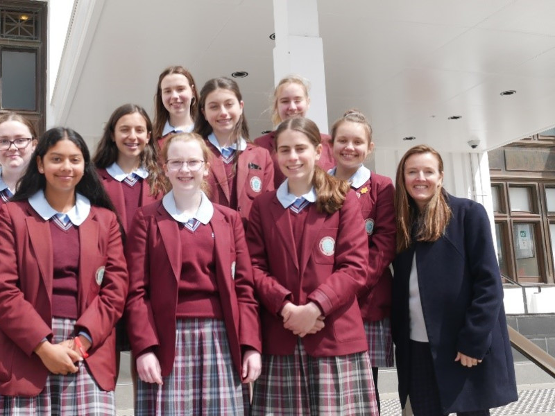 St Clare's College students reflect – learning about suffrage through MoAD collection objects