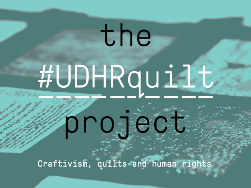#UDHRquilt Project