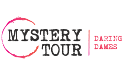 Mystery tour event logo