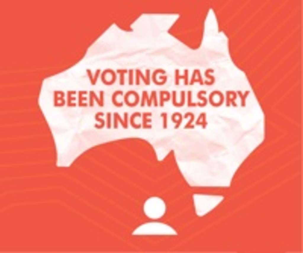 compulsory voting The link between informal voting and compulsory voting is difficult to prove of the informal house of representatives votes cast at the 2001 election, 34% had only the number 1, 17% did not complete the full sequence of numbers required and 13% used ticks and crosses.