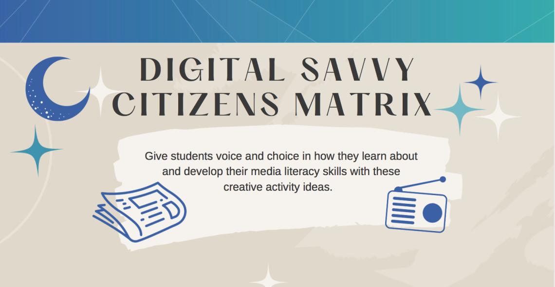 Digital Savvy Citizens Matrix