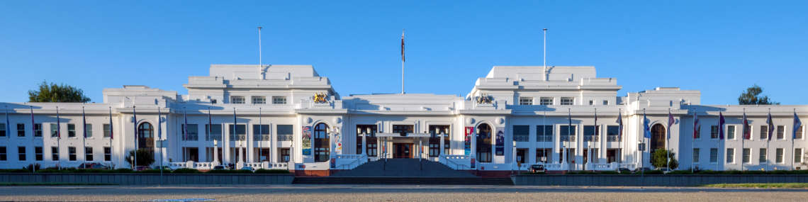Visiting · Museum of Australian Democracy at Old Parliament House