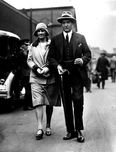 Prime Minister Stanley Bruce and his wife Ethel, ca. 1929