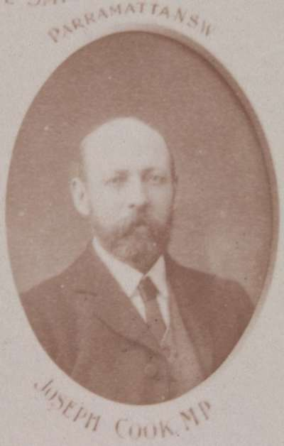 Portrait of Joseph Cook