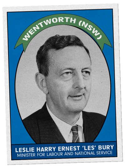 Leslie Harry Ernest 'Les' Bury
