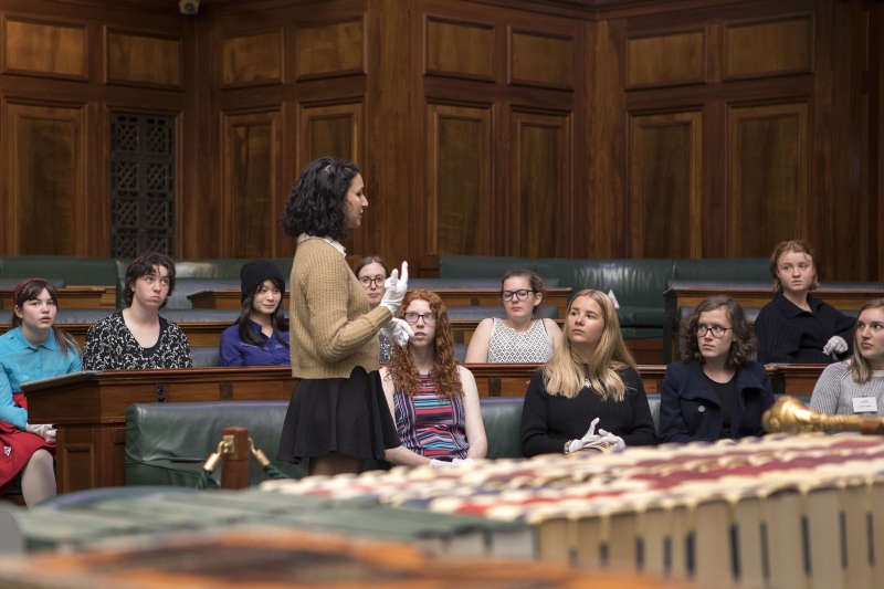 Speeches in our House of Reps Chamber on the second weekend of the Jasiri Australia 'Girls Takeover Parliament' workshops.