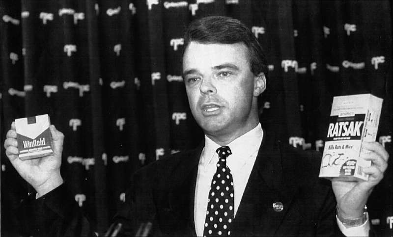 Dr Brendan Nelson as head of the AMA, 1993.