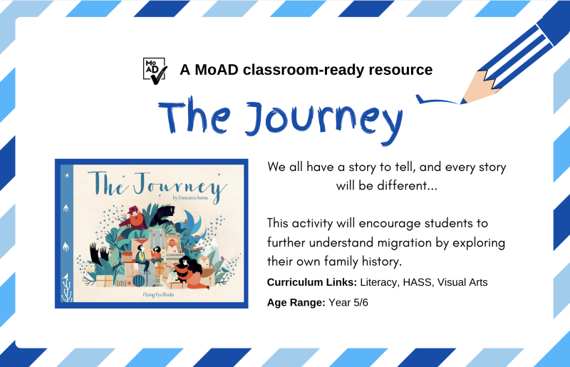 The Journey picture book image