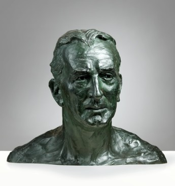 Kathleen Scott (1878-1947) England Bust of Stanley Bruce, later Viscount Bruce of Melbourne, 1933 Bronze Museum of Australian Democracy collection Photo Rob Little
