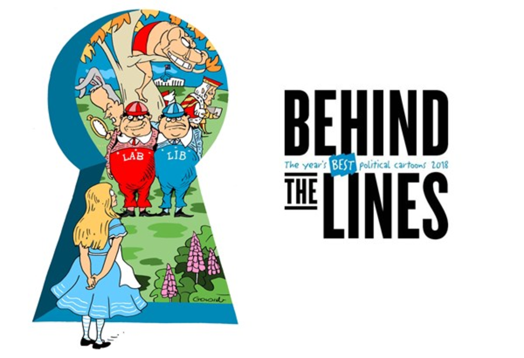 Behind the Lines 2018: The year's best political cartoons · Museum