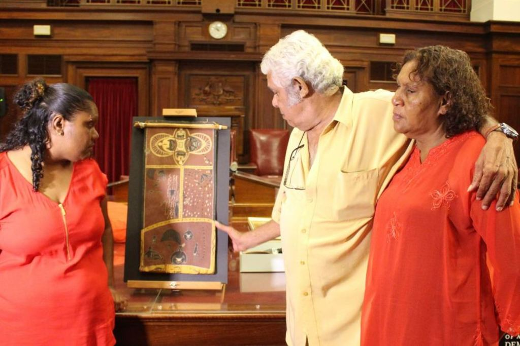neville bonner australian of the year The museum of australian democracy is marking bonner's contribution to public  life with a painting that traces his journey from a humpy on the.
