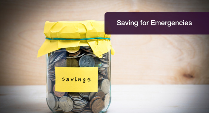 How to save for emergencies