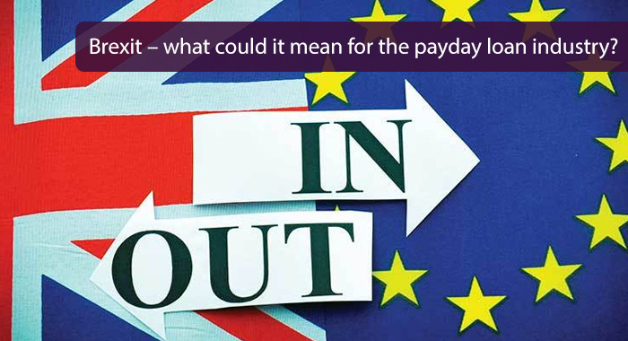 Could the payday loan industry be affected by a Brexit vote?