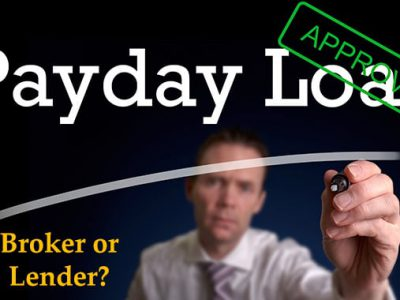 Payday loan broker – What is the difference between a broker and a lender?