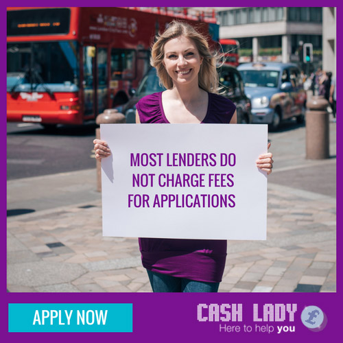 Most lenders do not charge for payday loan applications