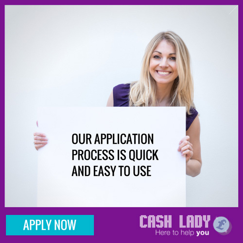 Our application process is quick and easy to use