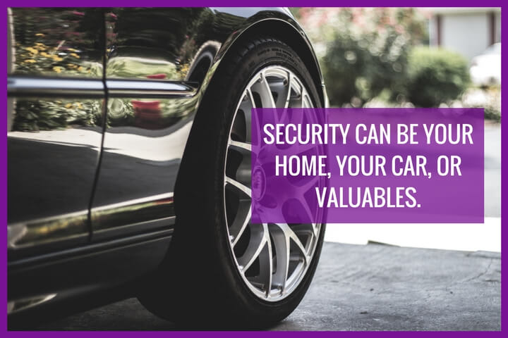 the image depicts a car which can be used as security for your loan