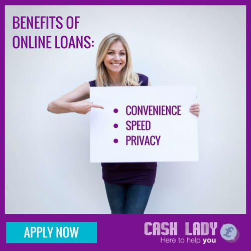 Online loans can be more convenient, quicker and more private