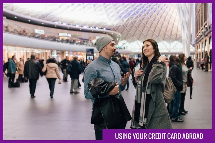 cashlady explains how to use a credit card when you are outside the UK
