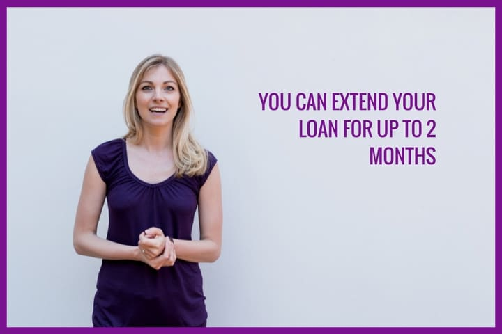 Extending your loan with quick quid