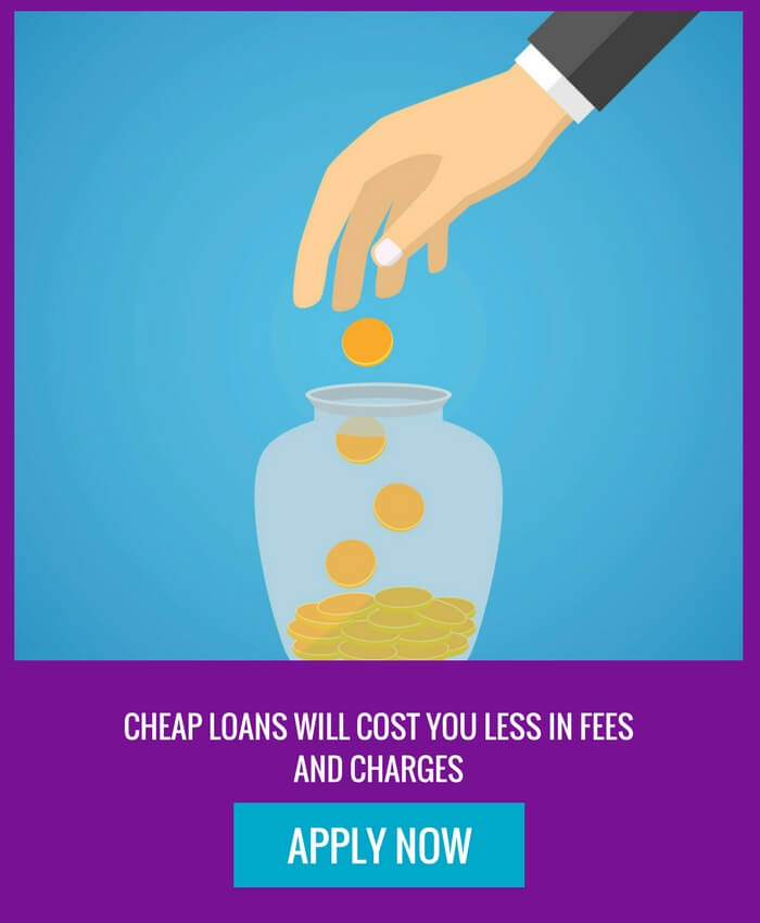 a hand puts a coin into a jar - see CashLady for payday loans