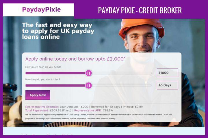 Paydaypixie loans