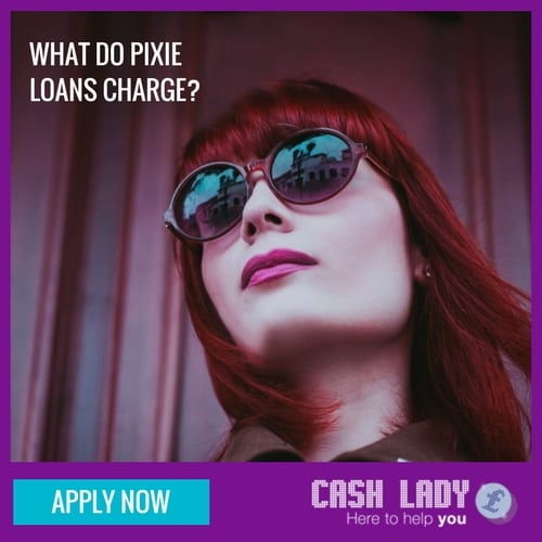 What do pixie loans direct lender charge?