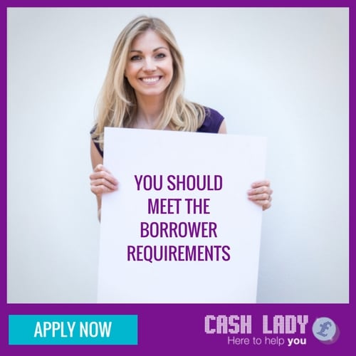 Borrowers requirements should be met